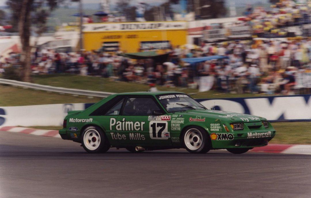 Green Tuff 1985 DJR Mustang